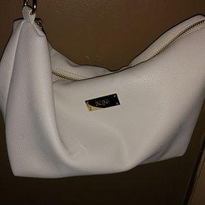🔴 BCBG paris white purse